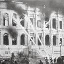 Çırağan Sarayı yandı