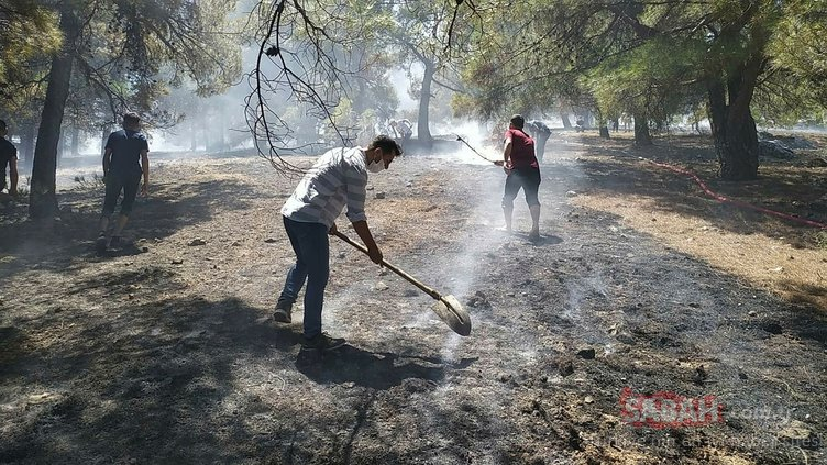 Gaziantep'te korkutan yangın! Herkes seferber oldu...