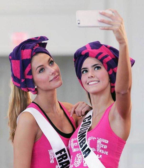 İki ülkeyi karıştıran selfie