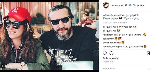 Ünlülerin Instagram paylaşımları (04.04.2018)