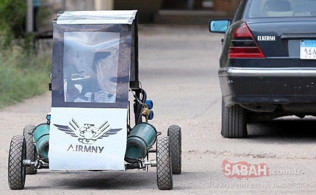 Hava ile çalışan otomobil geliştirdiler