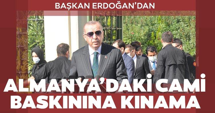 Son dakika: Başkan Erdoğan'dan Berlin'de camiye düzenlenen operasyona kınama!