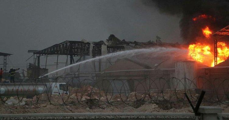 Adana'da kimya fabrikasında yangın
