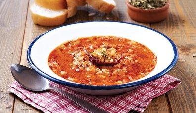 Tarhunlu lahana çorbası tarifi...