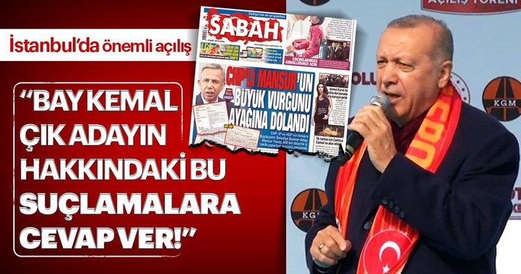 Son dakika: Başkan Erdoğan'dan sert tepki: Bay Kemal çık adayın hakkındaki bu suçlamalara cevap ver