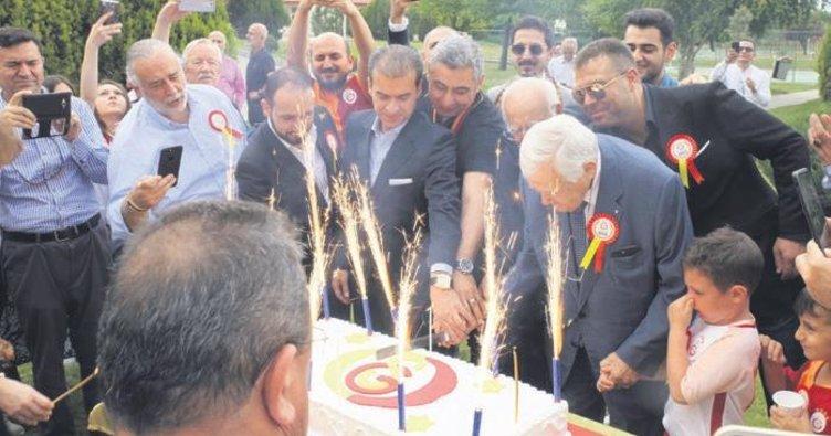 21. şampiyonluğa Ankara'da kutlama