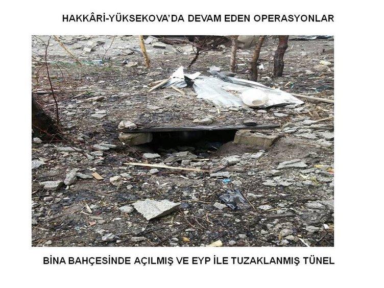 Yüksekova'da operasyonlar sürüyor!