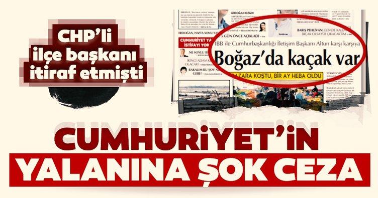 Cumhuriyet'in yalan haberine Basın İlan Kurumu'ndan ceza!