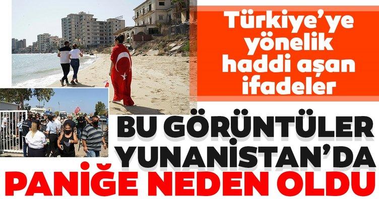 Yunanistan kapalı Maraş'ın açılmasının ardından çılgına döndü! Türkiye'ye yönelik haddini aşan ifadeler...