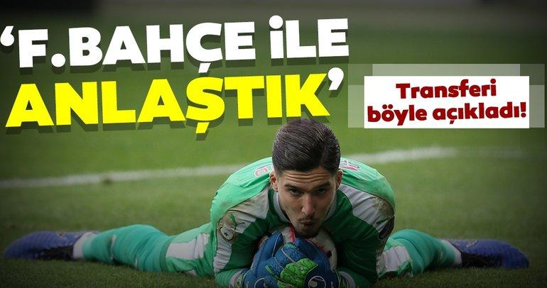 Ankaragücü'nden açıklama: Altay Bayındır transferi için Fenerbahçe ile anlaştık
