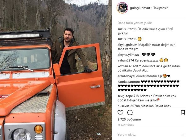 Ünlülerin Instagram paylaşımları (21.03.2018)