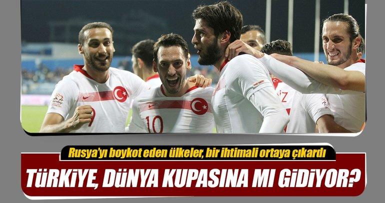 Türkiye, Dünya Kupasına mı gidiyor?