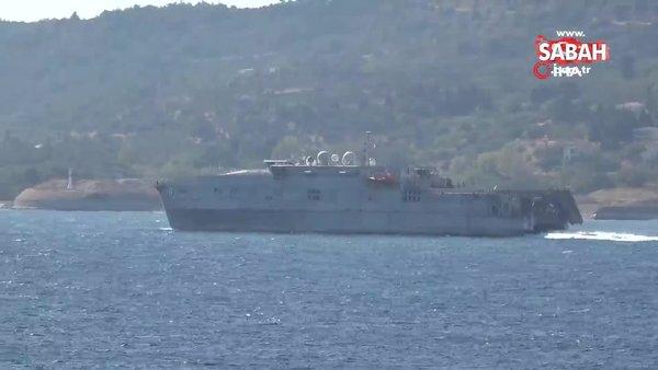 ABD savaş gemisi Akdeniz'e iniyor | Video