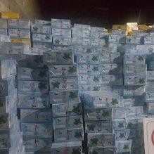 Gaziantep'de 25 ton kaçak nargile tütünü ele geçirildi