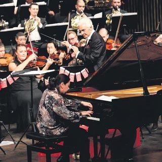 Piyanonun tuşlarına kuşlar konmuş