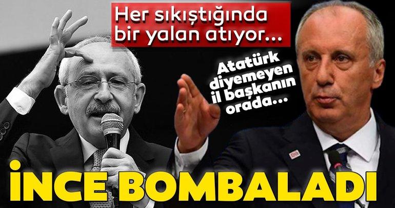 Son dakika: Muharrem İnce, Kılıçdaroğlu'nu bombaladı: Her sıkıştığında bir yalan atıyor ortaya...