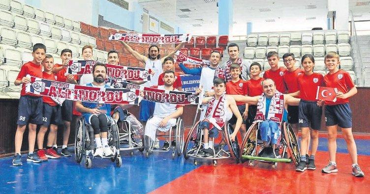 Altınordu'dan engellilere destek