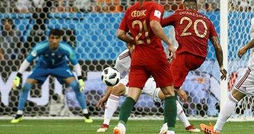 Ricardo Quaresma manşetleri süsleyen golüyle Dünya Kupası tarihine geçti