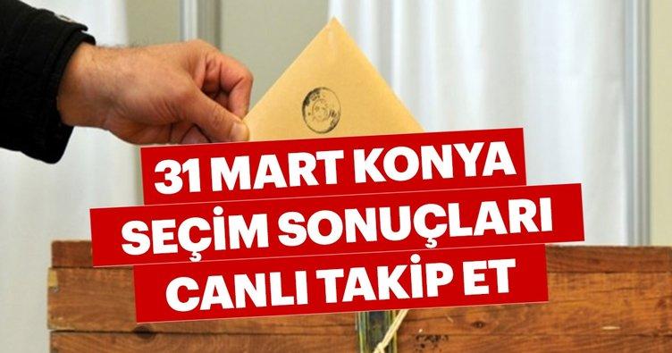 Konya seçim sonuçları 2019 açıklanıyor! 31 Mart ilçe ilçe Konya seçim sonuçları ve oy oranları hemen öğren!