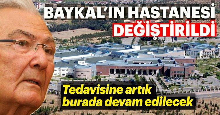 Deniz Baykal'ın hastanesi değiştirildi