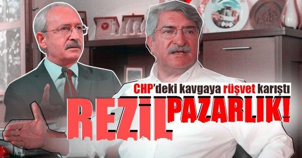 CHP'deki kavgaya rüşvet karıştı!