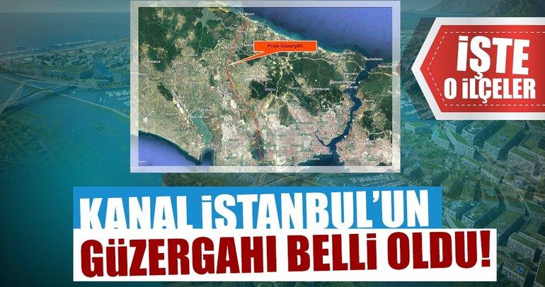 Kanal İstanbul'un güzergahı belli oldu!