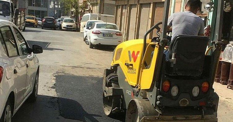 TESKİ'den bozulan yollara onarım