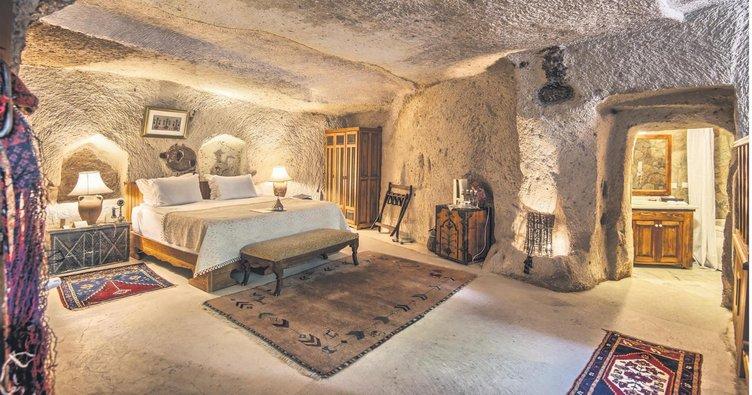 Periler diyarının rüya gibi otelleri: Magara oteller