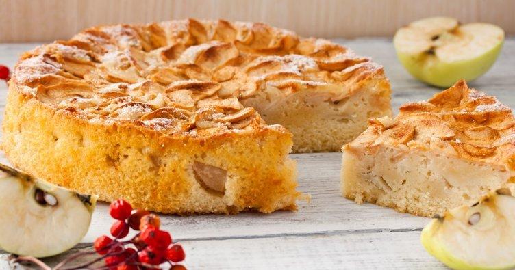 Eşsiz lezzetiyle elmalı kek tarifi: Elmalı tart kek nasıl yapılır?