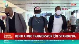 Benik Afobe İstanbul'a geldi! İşte o görüntüler...