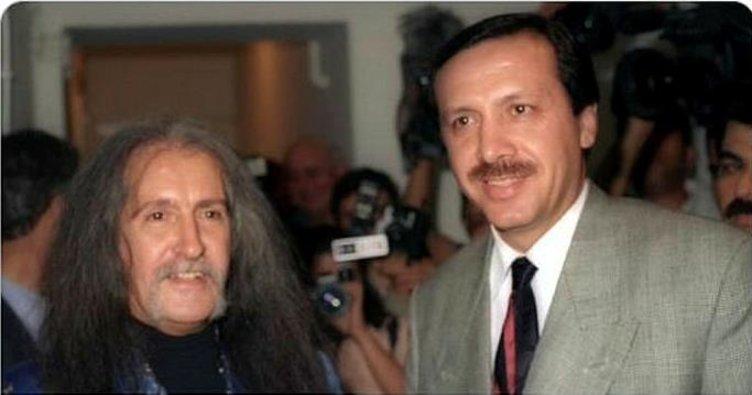 Cumhurbaşkanı Erdoğan Barış Manço'yu unutmadı