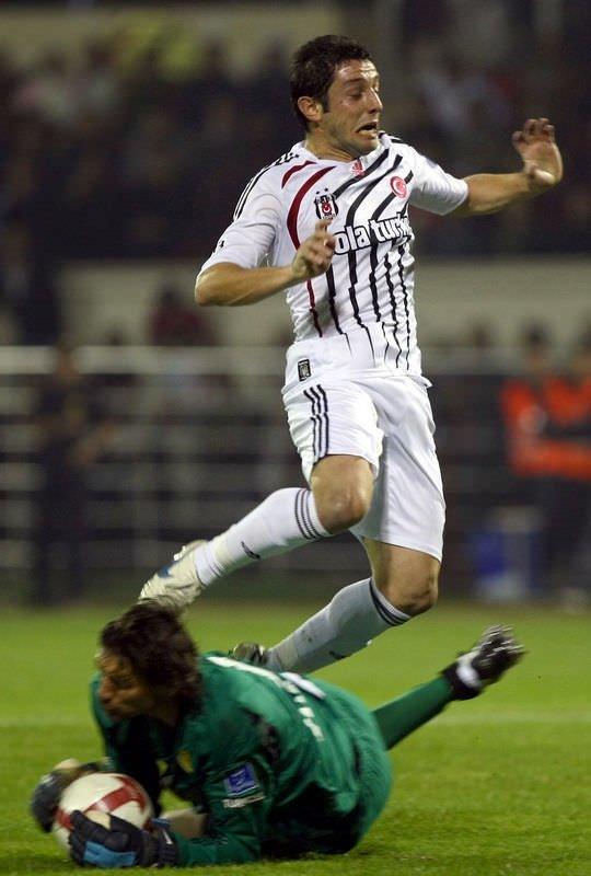 Eskişehirspor - Beşiktaş maçından kareler