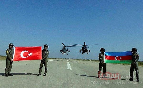 Türkiye ve Azerbaycan'dan gövde gösterisi