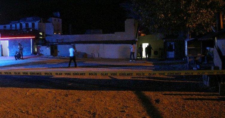 Mersin'de gazinoya silahlı saldırı: 1 ölü, 2 yaralı