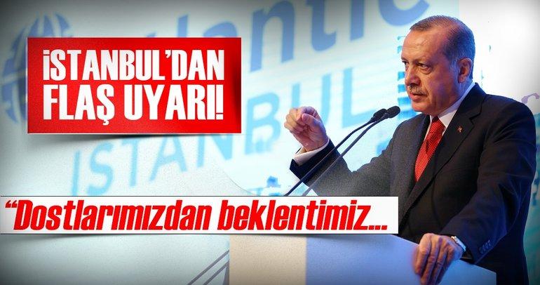 Cumhurbaşkanı Erdoğan, İstanbul'dan uyardı: Riayet edin!