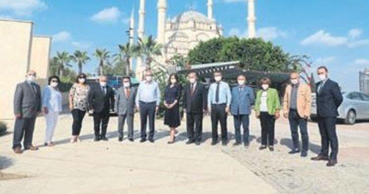 Rektör Tuncel ÇGC'yi ziyaret etti