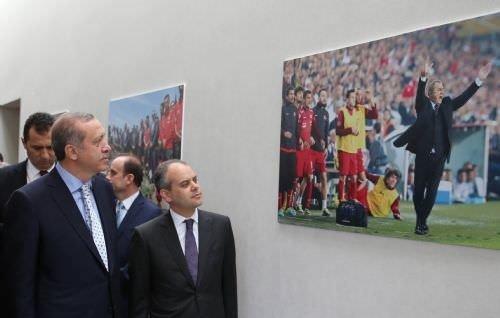 Erdoğan Hasan Doğan Tesisleri'ni açtı