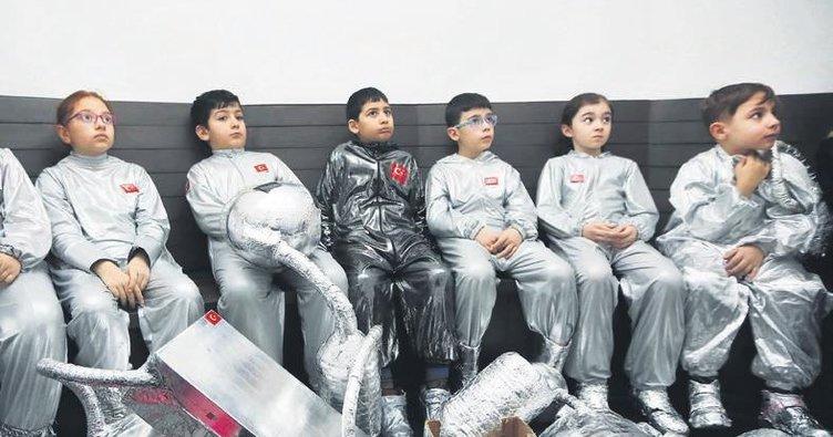 Ankaralı çocuklar müzeyi çok sevdi