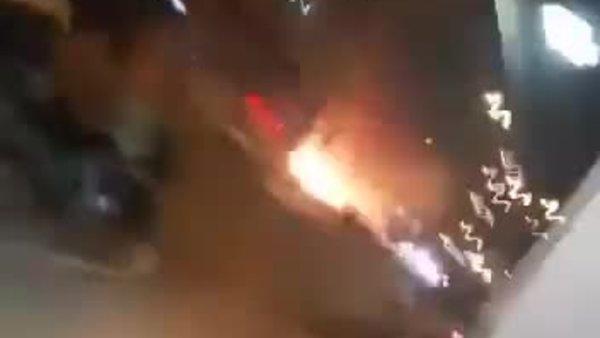 Son dakika! İşte Hatay İskenderun'daki patlama anı!   Video