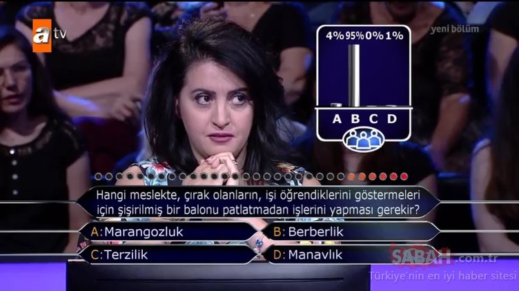 Kim Milyoner Olmak İster? 772. Bölüm tüm soru ve cevaplar