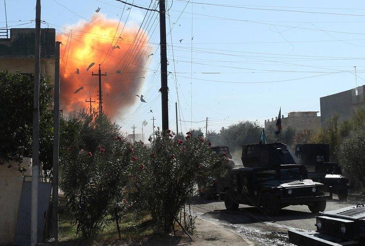 Musul'u DEAŞ'tan kurtarma operasyonunda 31 militan öldürüldü