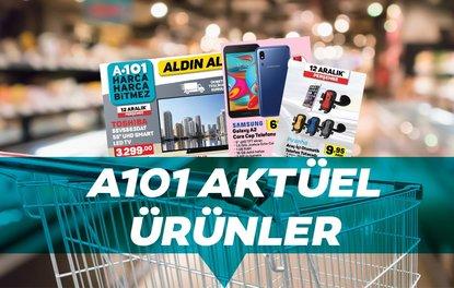 A101 aktüel ürünler 12 Aralık kataloğu!