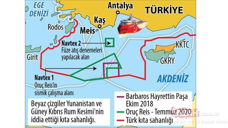Son dakika   Doğu Akdeniz'de yeni NAVTEX ilanı! Türkiye'den dünyaya mesaj