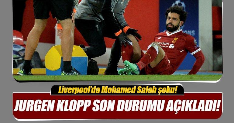 Jurgen Klopp, Mohamed Salah'ın son durumunu açıkladı