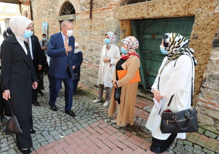 Son dakika: Başkan Recep Tayyip Erdoğan'dan anlamlı ziyaret...