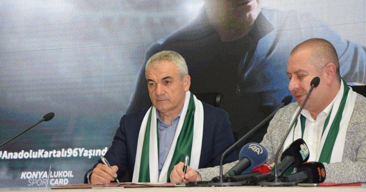 Rıza Çalımbay'dan Konyaspor'a 2 yıllık imza
