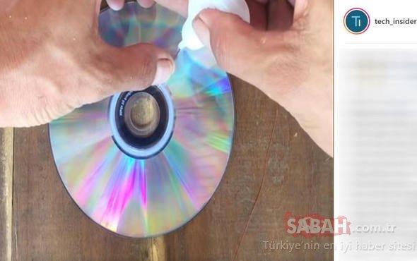 Elinizde CD varsa çöpe atmayın! Bakın az sonra neye dönüşecek...