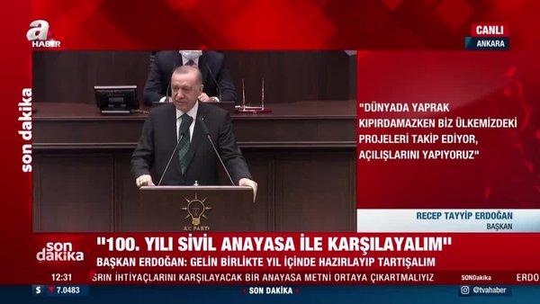 Cumhurbaşkanı Erdoğan'dan AK Parti Grup Toplantısı'nda önemli açıklamalar! (10 Şubat 2021 Pazartesi) | Video
