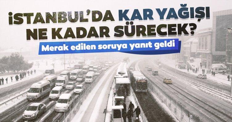 Uzman isimden son dakika: İstanbul'da kar yağışı ne kadar sürecek? Hava Tahmin Uzmanı tarih verdi