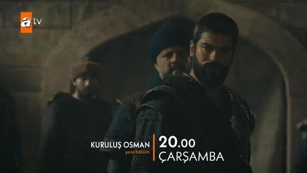 Kuruluş Osman 34. Bölüm (18 Kasım 2020 Çarşamba) Osman Bey'den büyük karar   Video